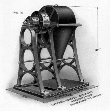 Gunpowder Mixing Machine, No. 4