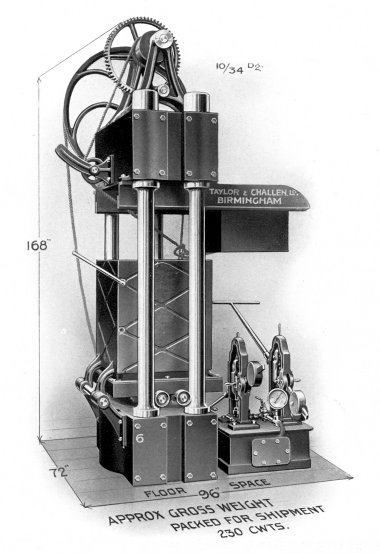Gunpowder Hydraulic Cake Presses, No. 6