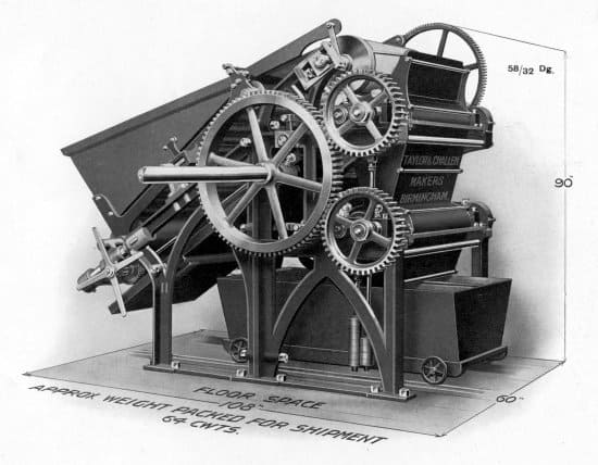 Gunpowder Breaking-Down Machine, No. 11