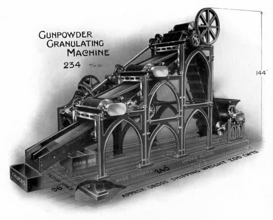 Gunpowder Granulating Machine, No. 234