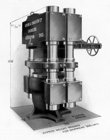 Gunpowder Hydraulic Cake Press, No. 265